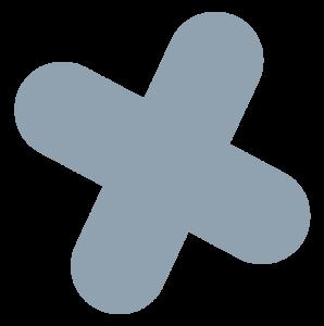 cross gray